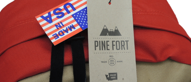 PINE FORT Made in USAのリュック